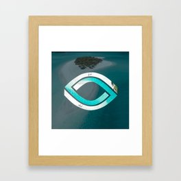 Eye of the Ocean Framed Art Print