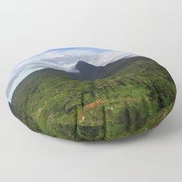 Violent Hill Floor Pillow