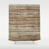 paper towns Shower Curtains featuring Paper by Premium