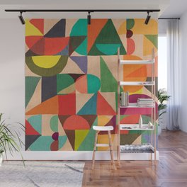 Color Field Wall Mural