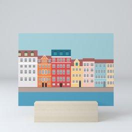 Nyhavn, Copenhagen, Denmark - South Mini Art Print