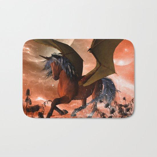 Dark unicorn  Bath Mat