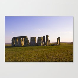 Evening at Stonehenge Canvas Print