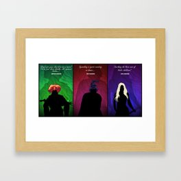 Hocus Pocus Framed Art Print