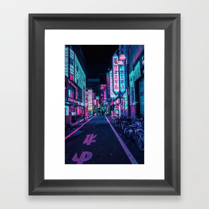 A Neon Wonderland called Tokyo Gerahmter Kunstdruck