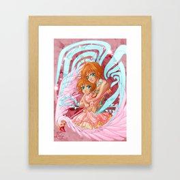 Sakura x 2 Framed Art Print