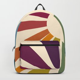 Retro Blossom Backpack