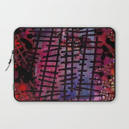 Rails on Red Laptop Sleeve