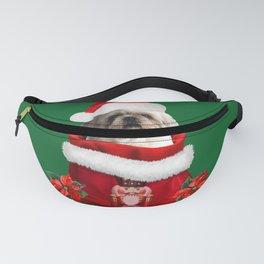 Nutcracker Christmas Bag - Santa Claus TOP Model Paul Shih tzu dog Fanny Pack