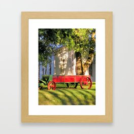 country church Framed Art Print