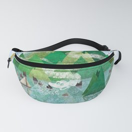 Mysterious Island Fanny Pack