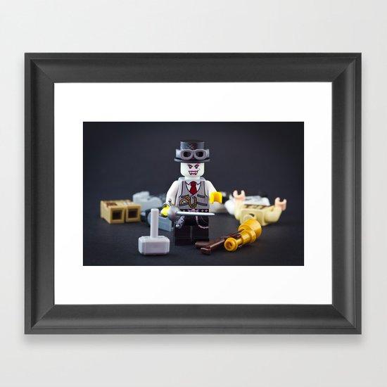 SteamCon Framed Art Print