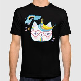 caticorn unicorn crazy cat lady unicat gift kawaii tee shirt T-shirt