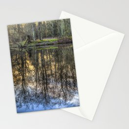 A Pond Of Refections Stationery Cards