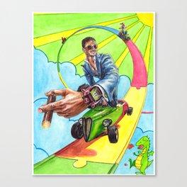 Candy Land. Sevenfriday, Rocketbyz and Watch Anish travel through Sunflowerman's imagination Canvas Print