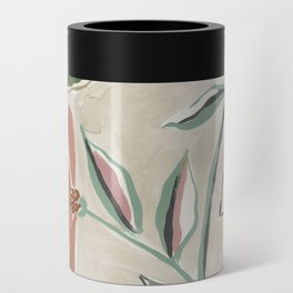 Monday Floral Can Cooler