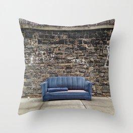 sofa free Throw Pillow