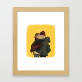 evak Framed Art Print