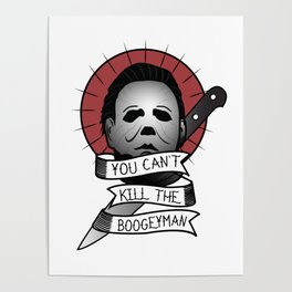 You Can't Kill The Boogeyman Poster