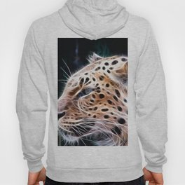 Leopard lines,Leopard painting Hoody
