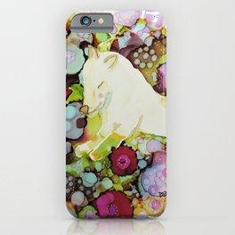 mon loup doux iPhone Case