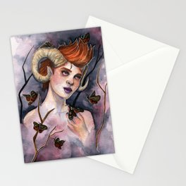 Queen of Moths Stationery Cards