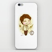 exo iPhone & iPod Skins featuring Pathcode EXO - Chen by Minnie Dreamer