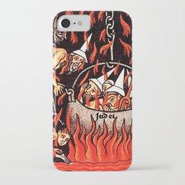 Devils cooking Dunces iPhone Case