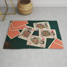 Lily, Rosemary and The Jack of Hearts - Bob Dylan Rug