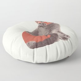 Cat Wrestler Floor Pillow