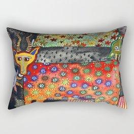 Antilopes Rectangular Pillow