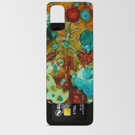 flora beginnings Abstract Android Card Case
