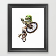 FROG BMX Framed Art Print
