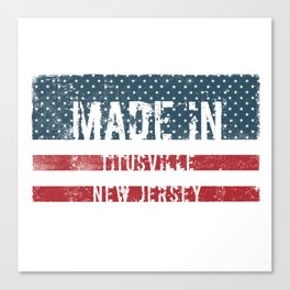 Made in Titusville, New Jersey Canvas Print