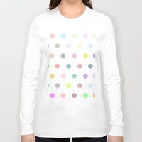 polka dots Long Sleeve T-shirts featuring Polka dots by Ben Nguyen