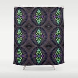 diamond 9 Shower Curtain