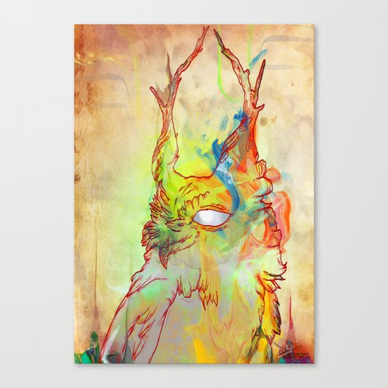 Turning Light Canvas Print