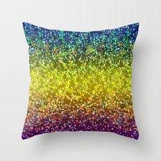 Glitter Graphic Background G107 Throw Pillow