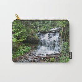Wagner Falls, Munising, Michigan Carry-All Pouch