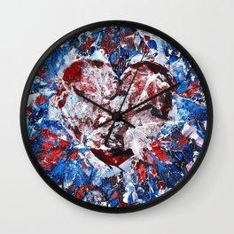 Everlasting Love Valentines Wall Clock