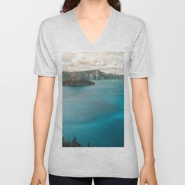 Summer At The Lake Unisex V-Neck