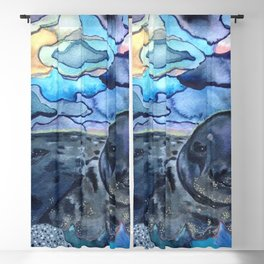 Cliffnote the Baby Harbor Seal Blackout Curtain