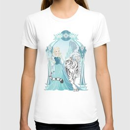 Frozen White Tiger T-shirt