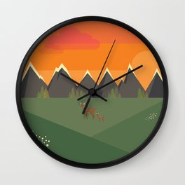 Chasseur Wall Clock