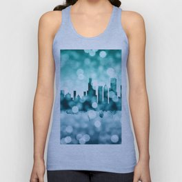 Chicago Illinois Skyline Unisex Tank Top