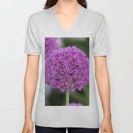 Giant Allium Unisex V-Neck