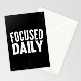 Focused Daily Stationery Cards