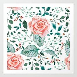 Rosé Art Print