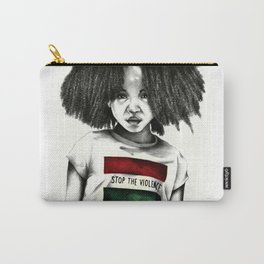 Stop the Violence Carry-All Pouch