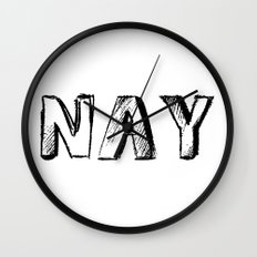 NAY Wall Clock